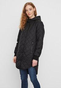 Vero Moda - Płaszcz zimowy - black - 0