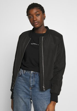 VMMIRAFANNY SHORT JACKET - Giubbotto Bomber - black