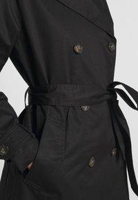 Vero Moda - VMHAMBORG  - Trenchcoats - black - 4