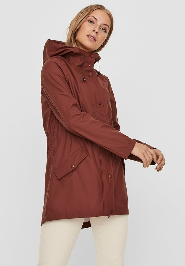 VMSHADY COATED JACKET PI - Parka - sable