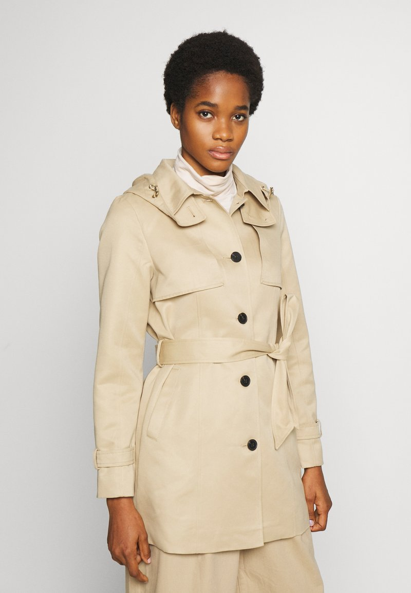 Vero Moda - VMGLORIELLA JACKET  - Trench - travertine