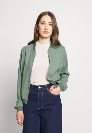 VMISABEL JACKET COLOR - Bomberjacka - laurel wreath