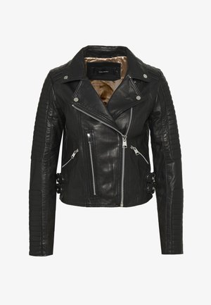 VMALICIA SHORT JACKET - Leather jacket - black