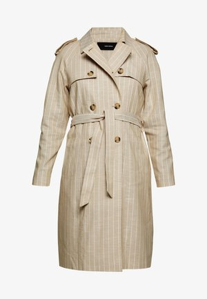 VMPOPPYKENZIE LONG - Trenchcoat - travertine
