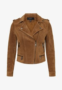 Vero Moda - Leren jas - tobacco brown - 4