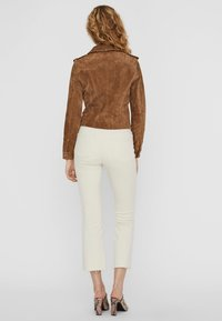 Vero Moda - Leren jas - tobacco brown - 2