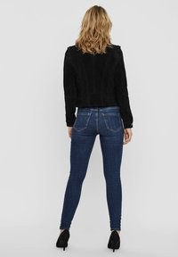 Vero Moda - Leren jas - black - 2