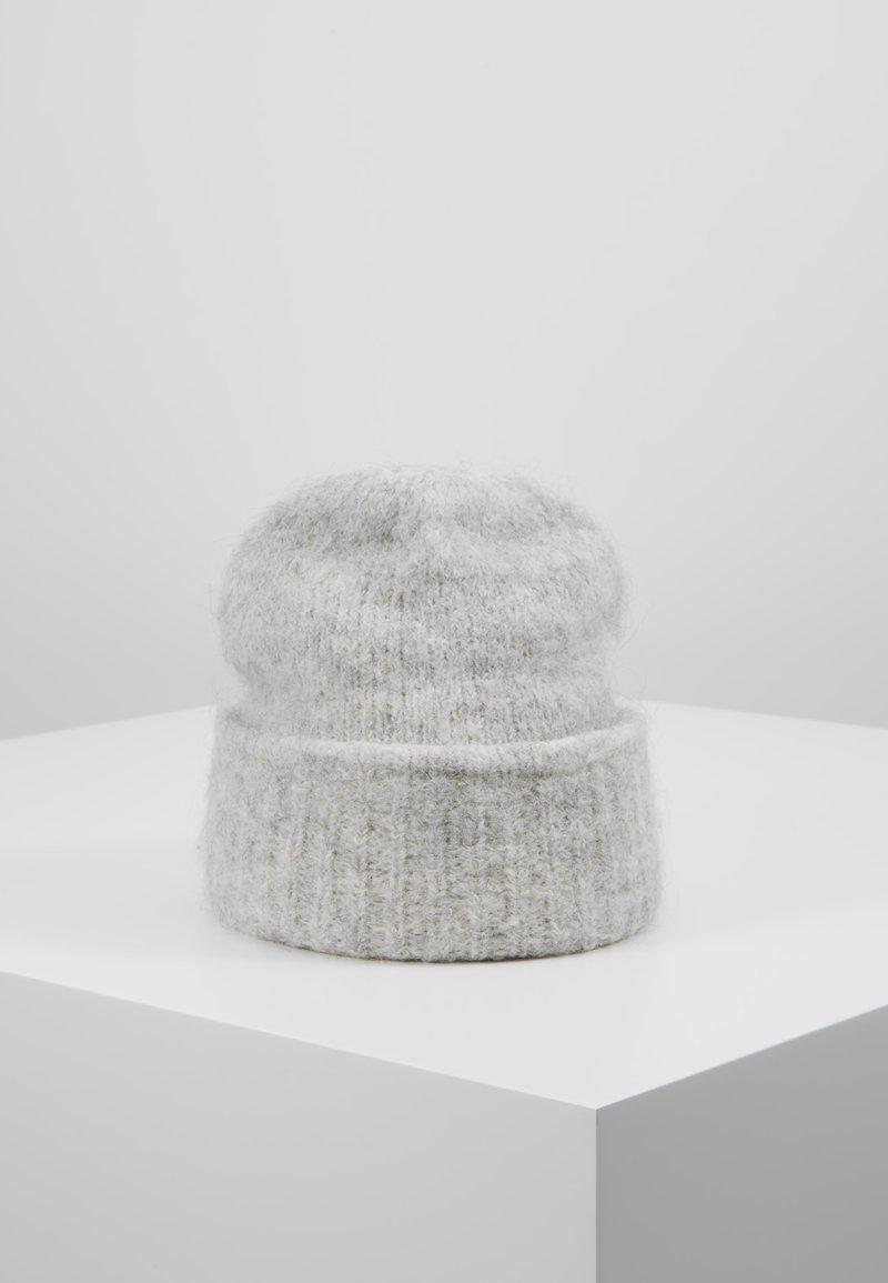 Vero Moda - VMNIMU BEANIE - Mütze - light grey melange