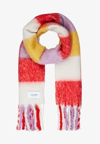 Vero Moda - VMMAURA LONG SCARF - Šála - high risk red - 1