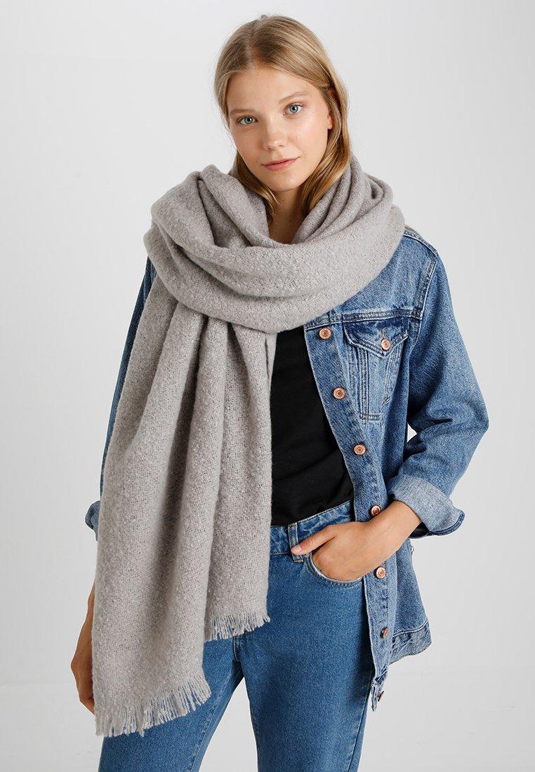 Vero Moda - VMIDA LONG SCARF - Sjaal - light grey melange