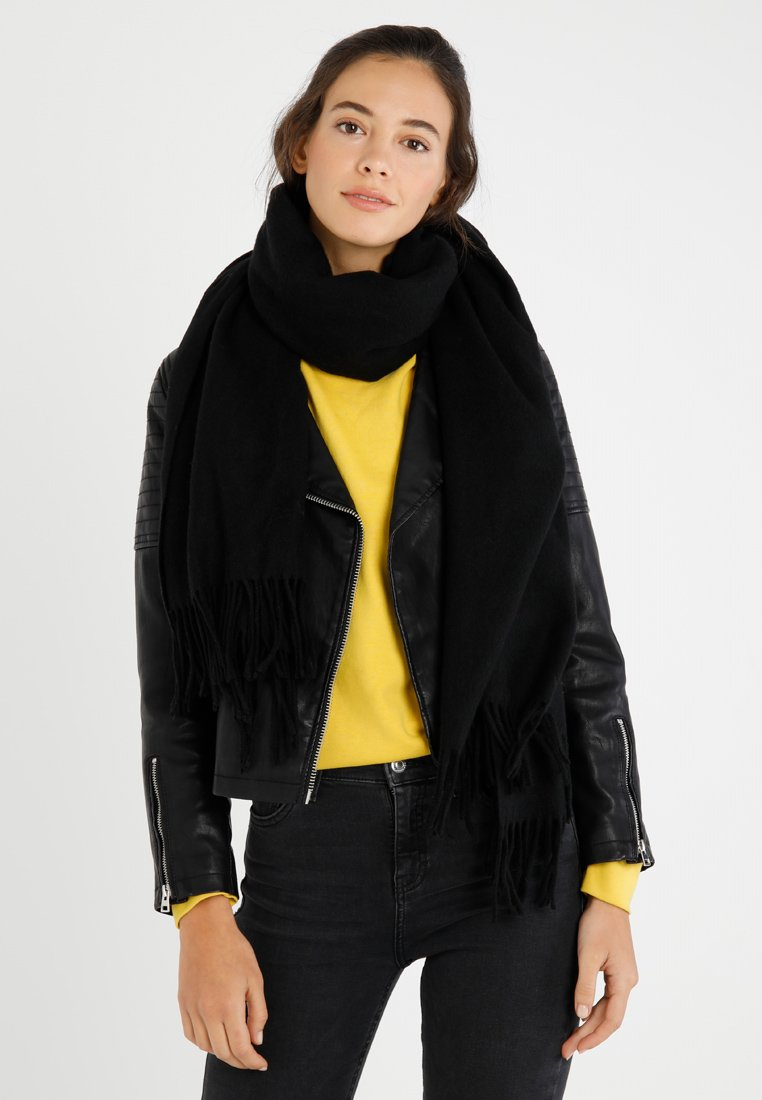 Vero Moda - VMANA WOOL LONG SCARF - Schal - black