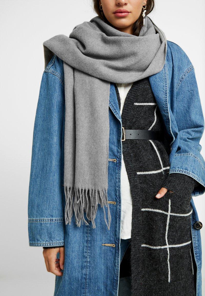 Vero Moda - Sjal - medium grey melange