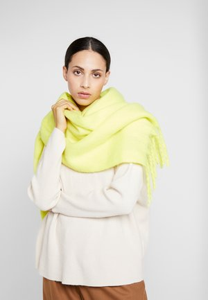 Scarf - neon yellow