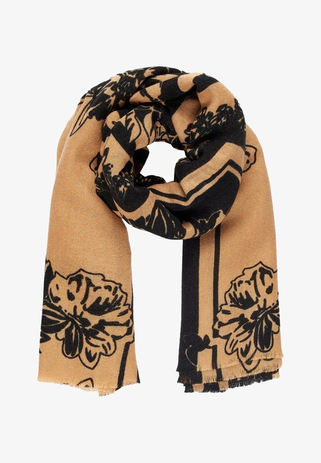Scarf - tobacco brown