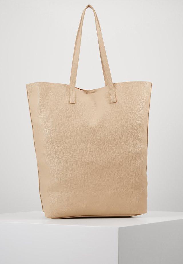 VMANNA SHOPPER NET - Tote bag - beige