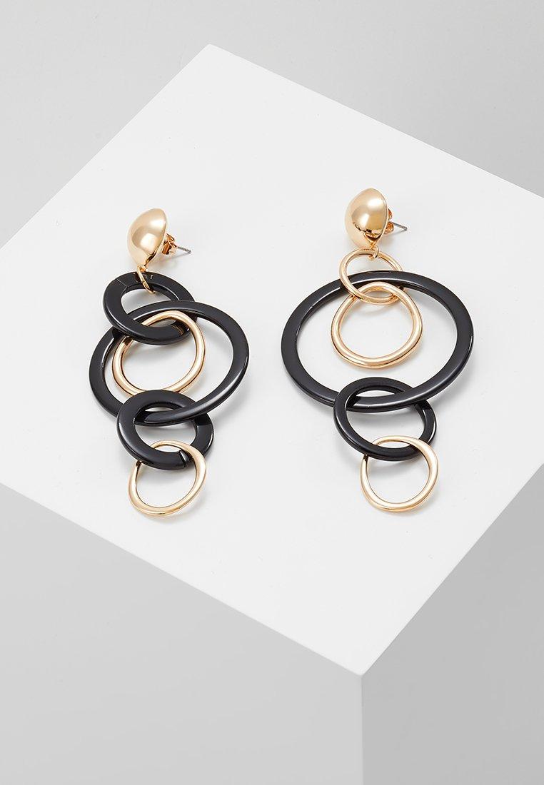 Vero Moda - VMLONA LONG EARRINGS - Ohrringe - gold-coloured