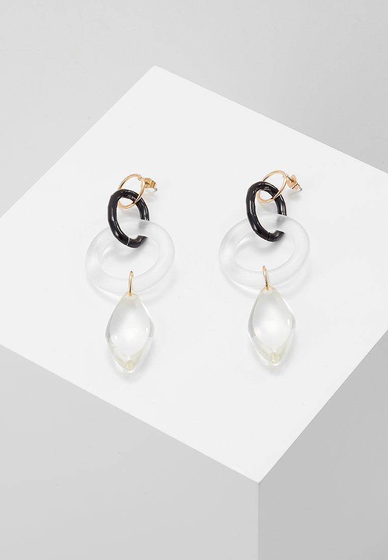 Vero Moda - VMANNALINE LONG EARRINGS - Earrings - gold-coloured