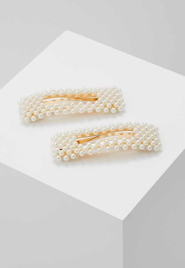 Vero Moda - VMAMFI HAIRCLIP 2 PACK - Hair Styling Accessory - gold-coloured