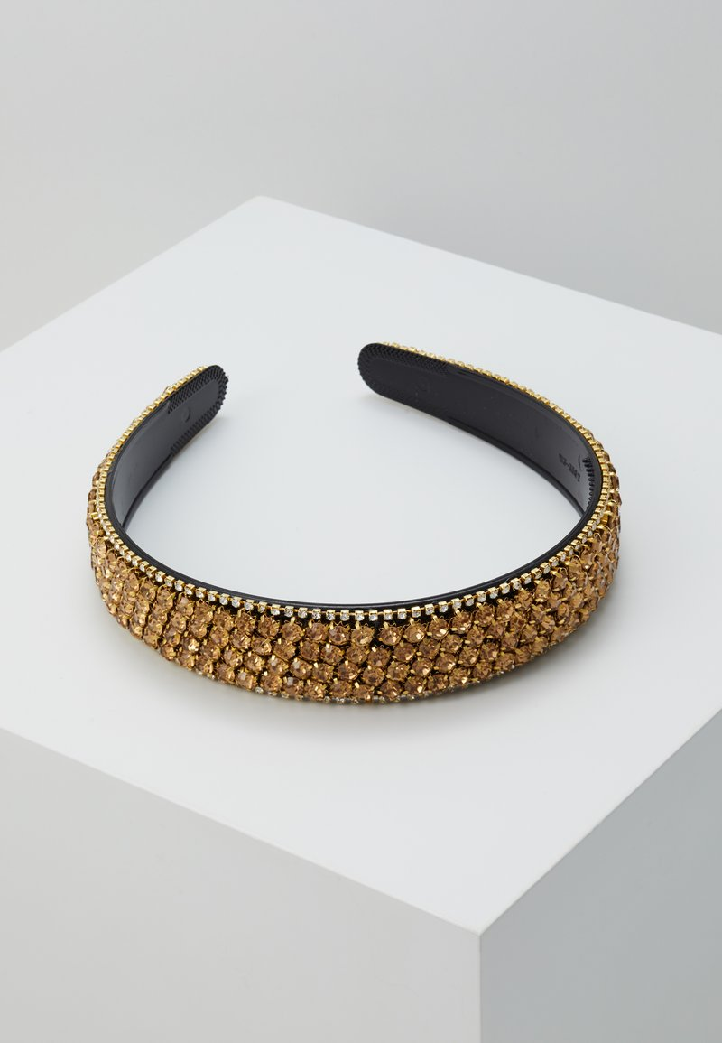 Vero Moda - VMCRYSTAL HAIRBAND - Hair Styling Accessory - gold-coloured