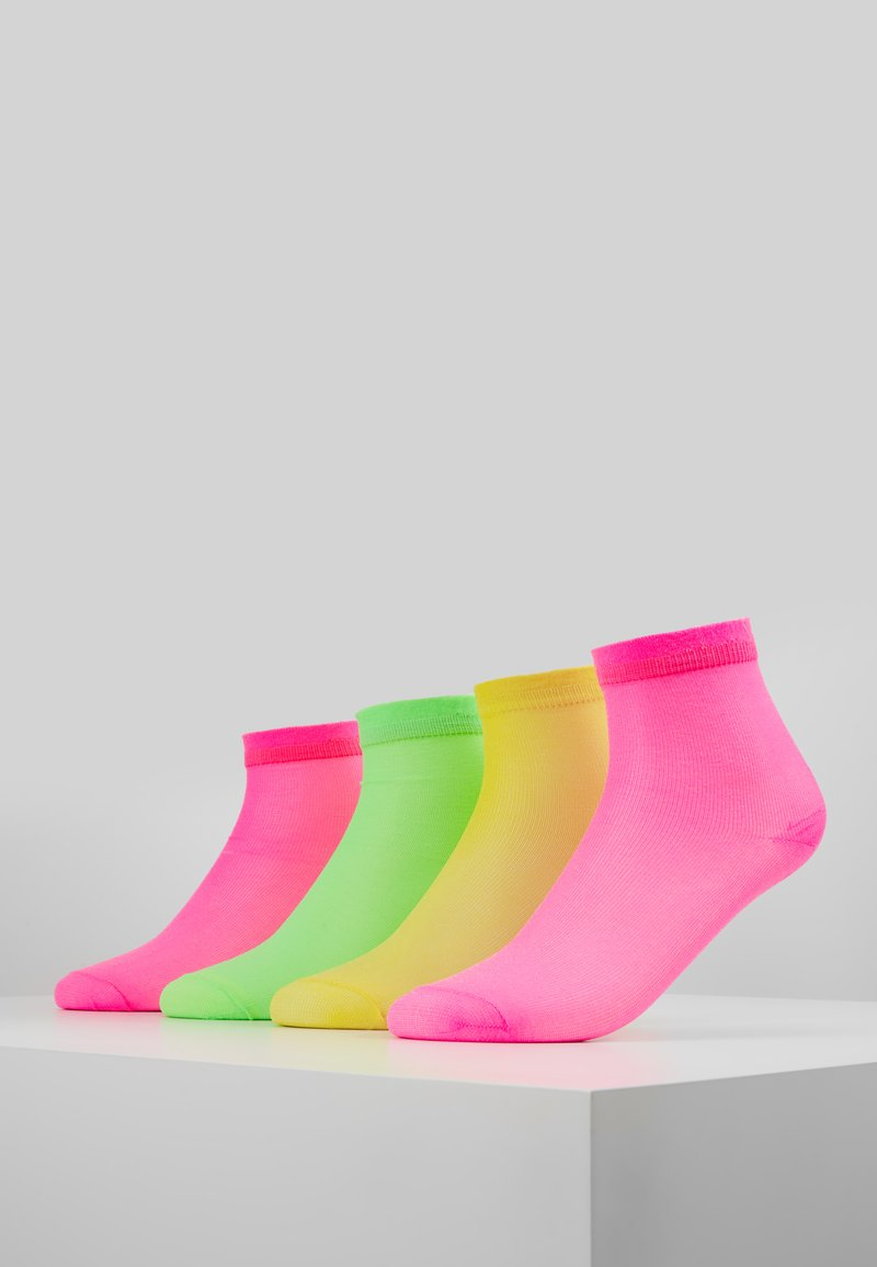 Vero Moda - VMNEON SOCKS 4 PACK - Sokken - neon pink