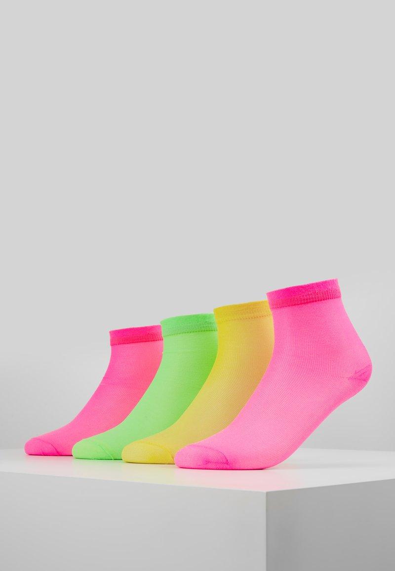 Vero Moda - VMNEON SOCKS 4 PACK - Calcetines - neon pink