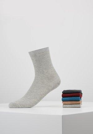 VMHYGGE 5 PACK - Ponožky - dark grey melange