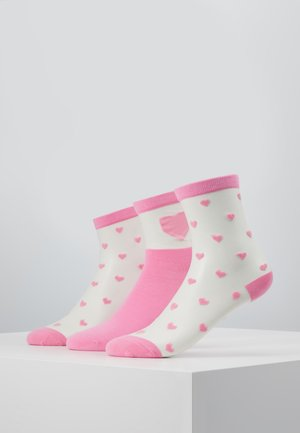 VMVALENTINE SOCK GIFTBOX  3 PACK - Sokken - sea pink