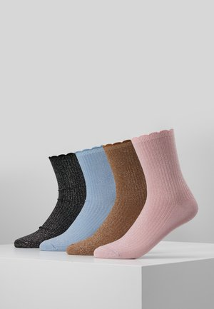 VMHATTIE SOCKS 4 PACK - Socken - sea pink