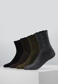 Vero Moda - VMHATTIE SOCKS 4 PACK - Sokker - black - 0