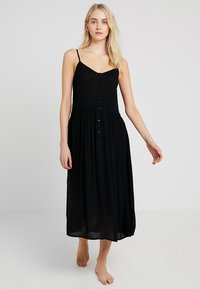Vero Moda - VMMORNING DRESS - Maxi šaty - black - 1