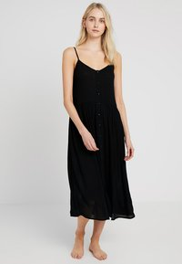 Vero Moda - VMMORNING DRESS - Maxi šaty - black - 0