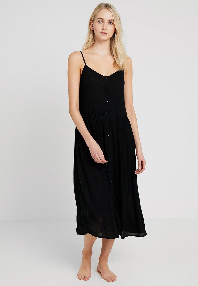 Vero Moda - VMMORNING DRESS - Maxi šaty - black