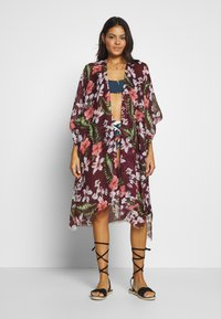Vero Moda - VMLENA PONCHO - Beach accessory - fig - 0