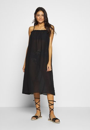 VMMIANNE SOLID MIDI DRESS - Complementos de playa - black