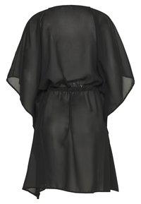 Vero Moda - VMMIANNE SOLID KAFTAN - Beach accessory - black - 1
