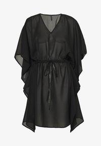 Vero Moda - VMMIANNE SOLID KAFTAN - Beach accessory - black - 0