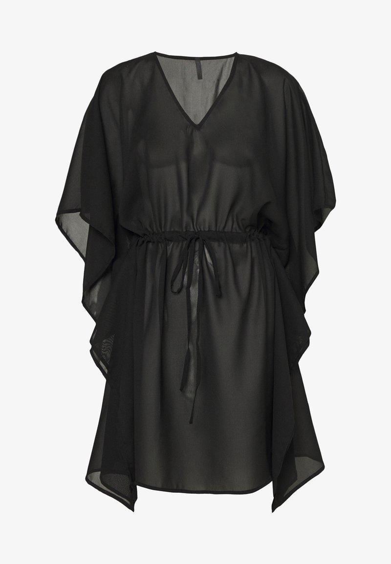 Vero Moda - VMMIANNE SOLID KAFTAN - Beach accessory - black