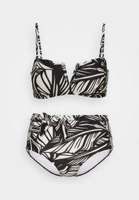 Vero Moda - VMLUCIA SWIM SET - Bikini - black - 0