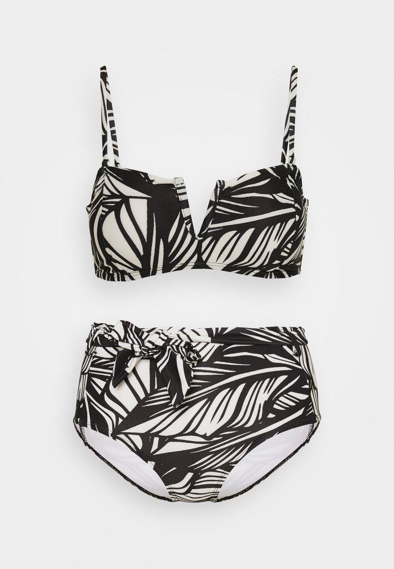 Vero Moda - VMLUCIA SWIM SET - Bikini - black