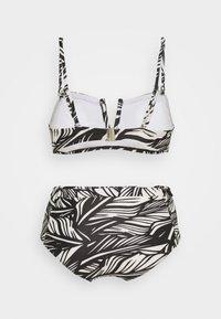 Vero Moda - VMLUCIA SWIM SET - Bikini - black - 1