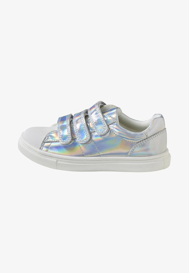 Touch-strap shoes - silver