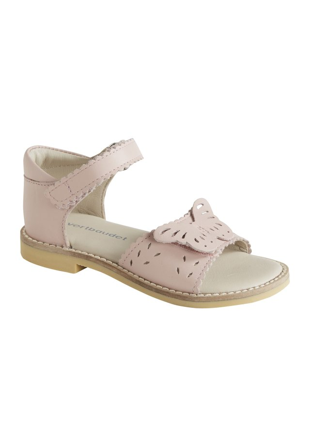SANDALES EN CUIR FILLE COLLECTION MATERNELLE - Riemensandalette - rosa
