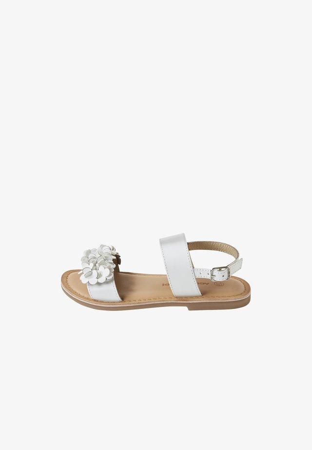 FESTLICHE MÄDCHEN - Sandals - white