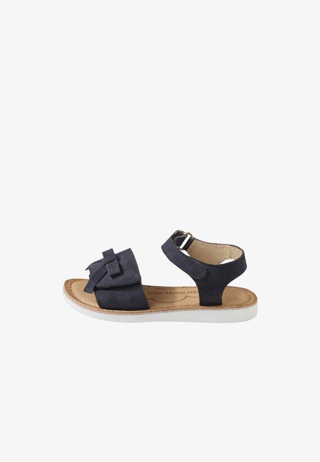 MIT ANZIEHTRICK - Sandals - navy