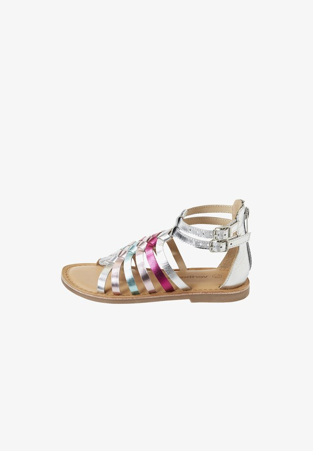 Sandals - sliver