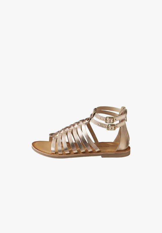Sandals - pink metallic