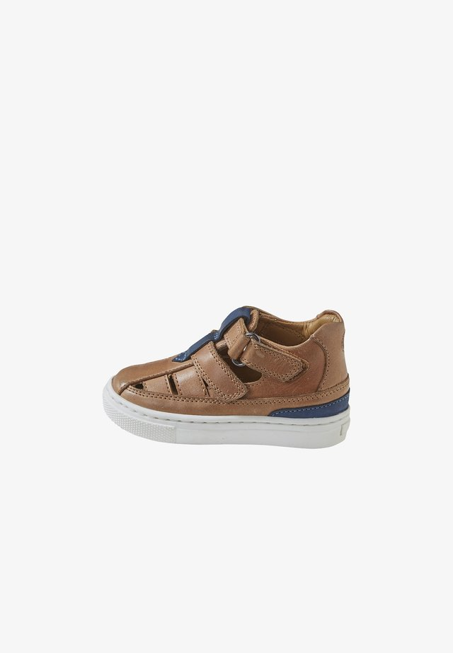 Baby shoes - caramel