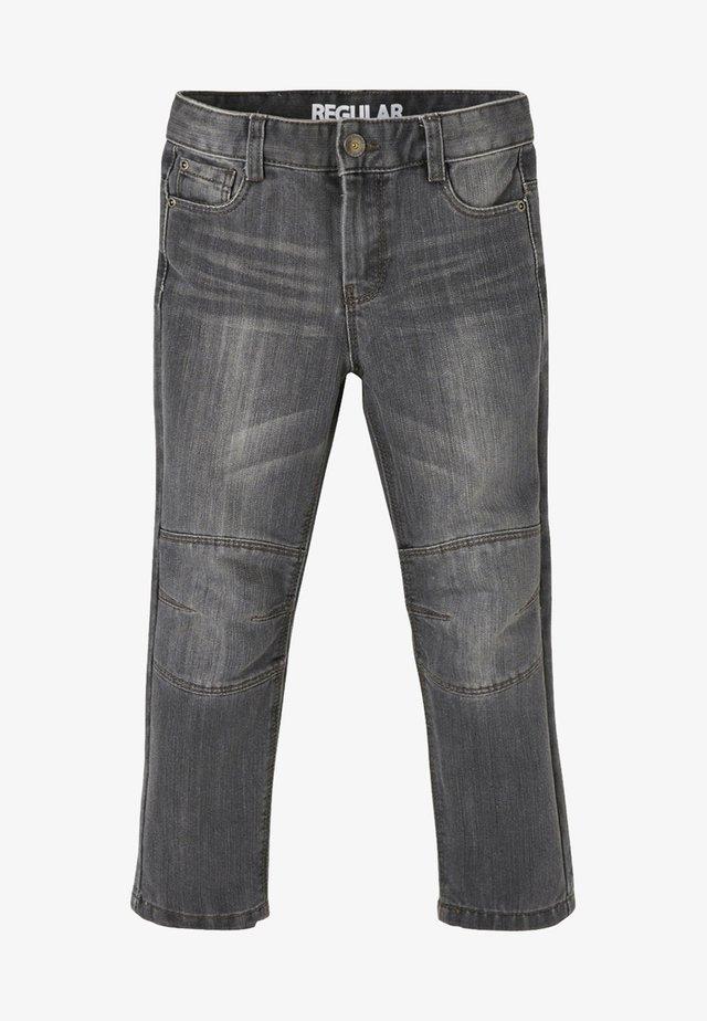 DIE UNVERWÜSTLICHE - Jeans Straight Leg - grey