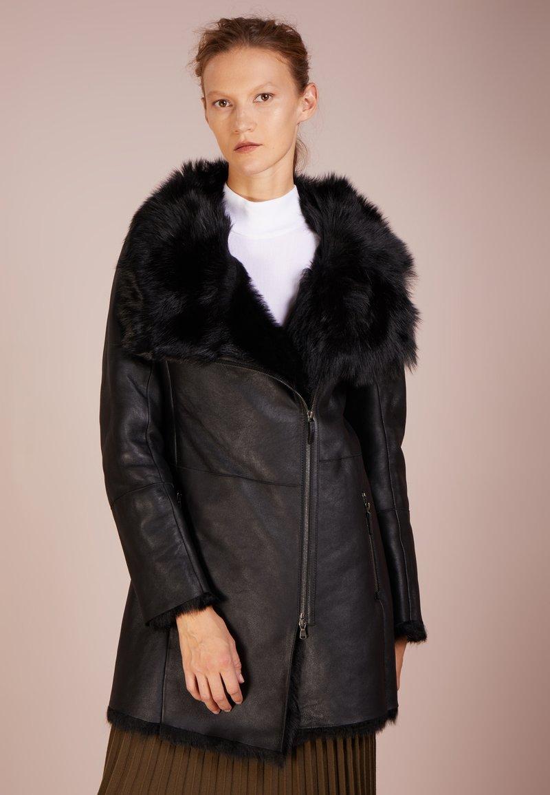 VSP - CLOTHO ZENA COAT - Wintermantel - black