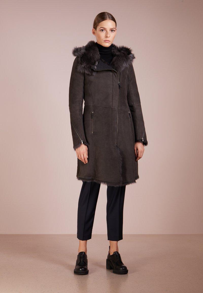 VSP - VESPUCCI BY CLOTHOS - Abrigo de invierno - antracite